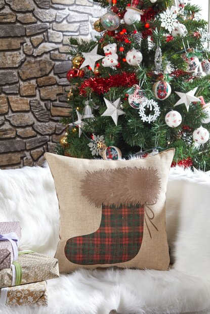 Decorative Pillow with Christmas Motif 8681846026304