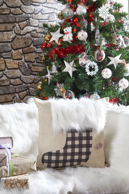 Decorative Pillow with Christmas Motif 8681846026311