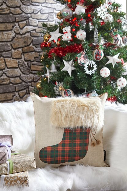 Decorative Pillow with Christmas Motif 8681846026342