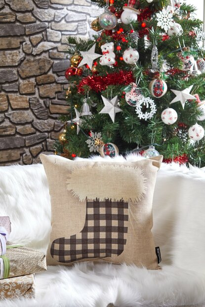 Decorative Pillow with Christmas Motif 8681846026366