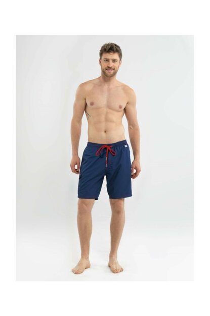 Men's Shorts Swimwear - 8573 - Navy Blue