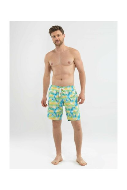Men's Shorts Swimwear - 8566 - Printed
