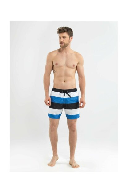 Men's Shorts Swimwear - 8559 - Blue