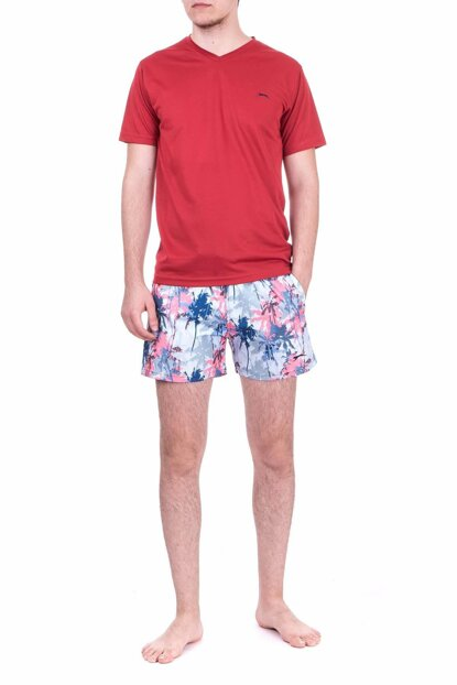 Men's Green Sea Short - Yaser - ST18SE030-879