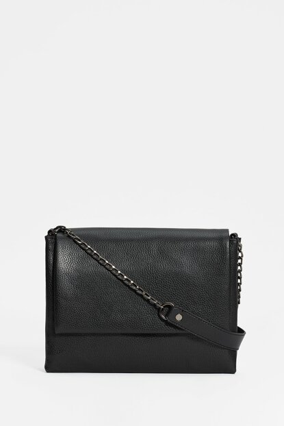 Women's Cross Shoulder Black Bag 194276-902
