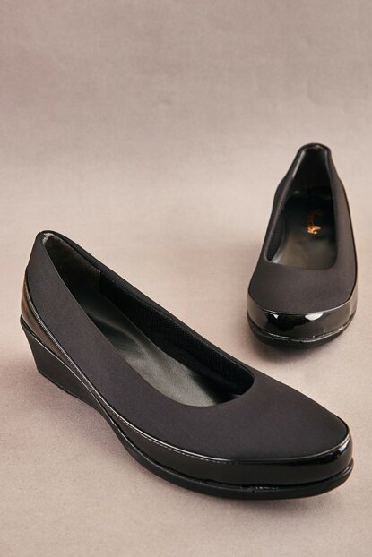 Black Women's Casual Shoes K05621907