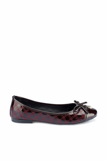 Bordeaux Women's Flats 000000000100336126