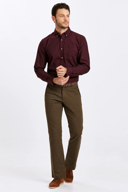 Men's Khaki Pants 8W0887Z8
