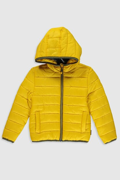 Boys' Medium Yellow G9L Coat 0S0046Z4