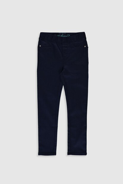 Girls' Navy Blue HFH Trousers 0S1523Z4