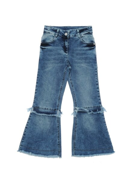 Girls' Denim Trousers 18221005100