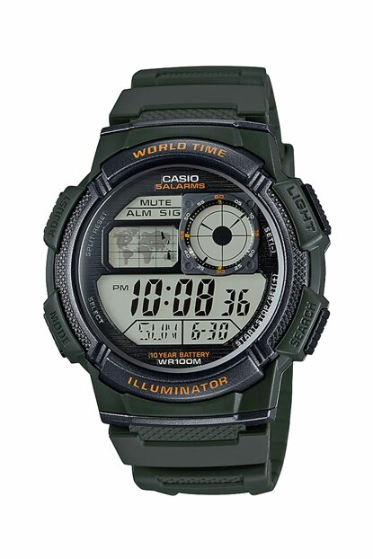 Digital Men's Watch AE-1000W-3AVDF