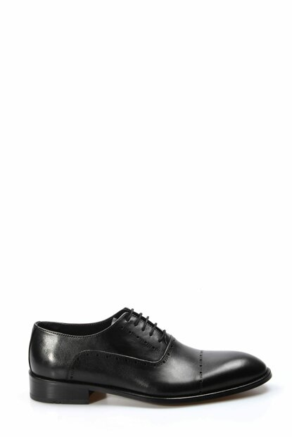 Genuine Leather Black Men Classic Shoes 1849932