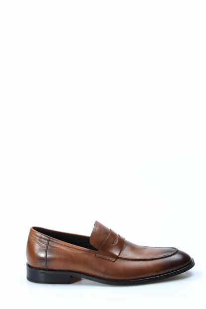 Genuine Leather Taba Men's Classic Shoes 1849925