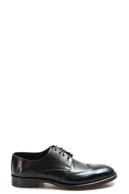 Genuine Leather Black Men Classic Shoes 2273408