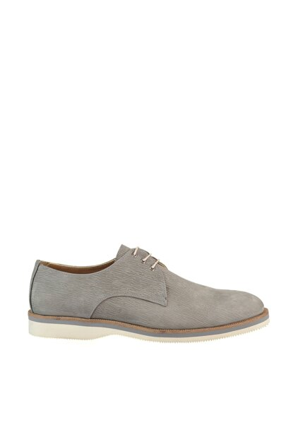 Genuine Leather Gray Men Classic Shoes 02AYH146470A230