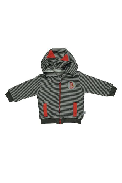 PENYE VELSOFT LINED Hooded Cardigan - SUPER HERO K 2210