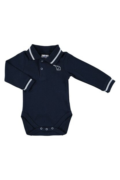 Winter Baby Boy Mom Elephant Polo Neck Long Sleeve Body 19KLUGEBDY014
