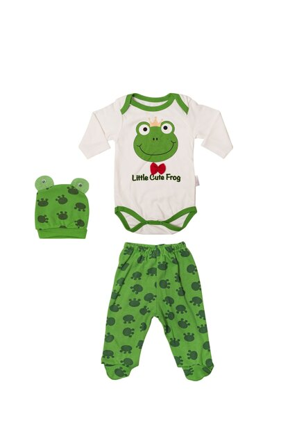 Frog Printed Badi and Hat Team VIP8125