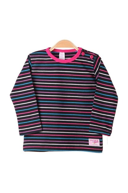Baby Girl Patterned Striped Body Striped Color 3461.2-026
