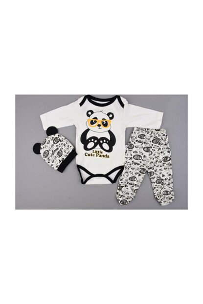 Panda Figured Baby Set of 3 Zıbın Zıbın-0006