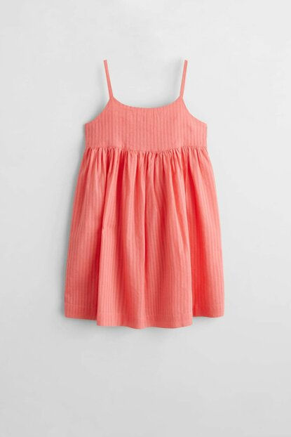 Pink Girl Kid Ruffle Detailed Dress 53050749