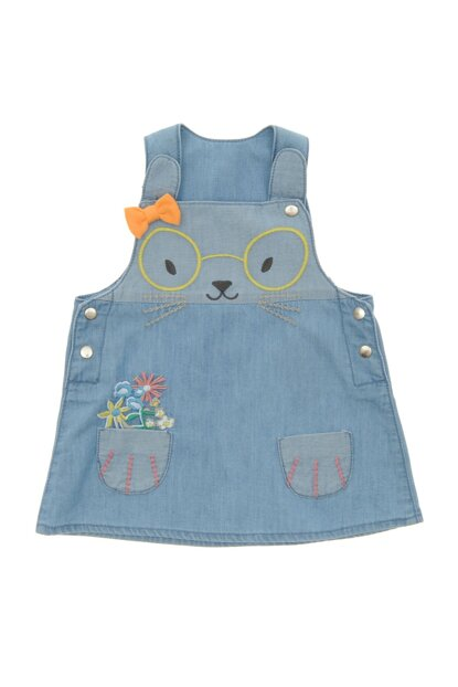 Baby Girl Denim Gilet 19127091100