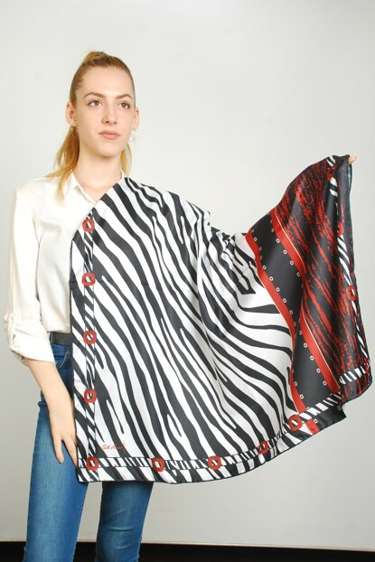 Women Multi Color Sport Polyester Scarf 9351291