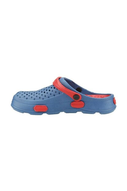 9626 Mens Nurse / cook Slippers Sandals Blue / red 2533