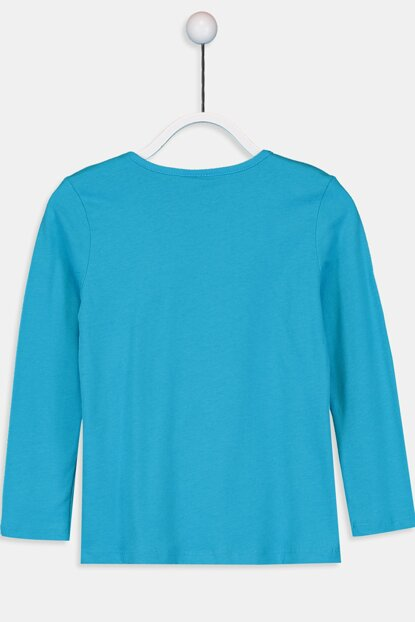 Girl's Turquoise Gbs T-Shirt 9W2619Z4