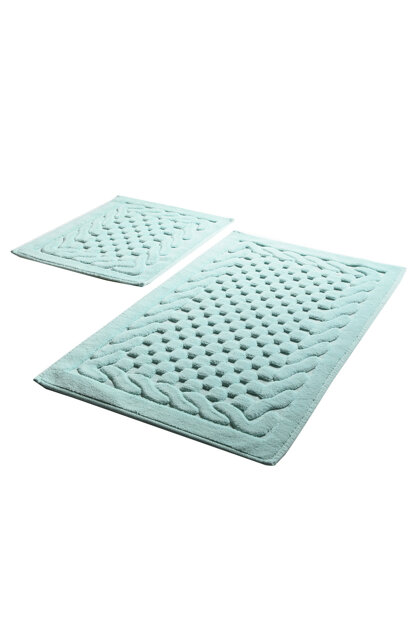 Bambi Cotton Mint Set of 2 Bath Mat 8694578912142