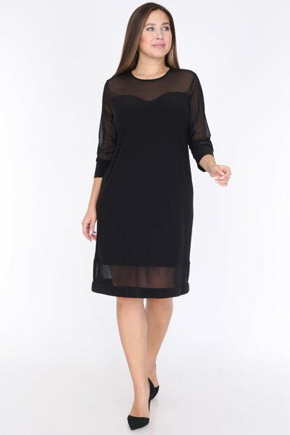 Women's Black Dress 1595