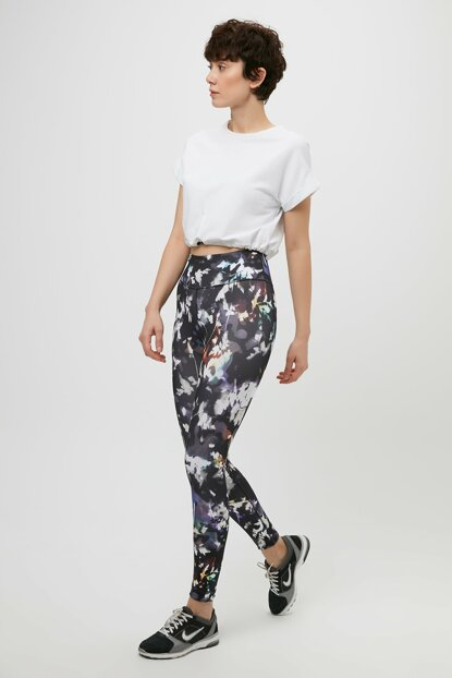 Women's Leggings - W Nike One Tght Print Fa19 - CD6997-010