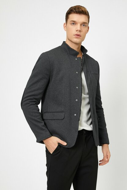 Men's Anthracite Jacket 0KAM59084NK