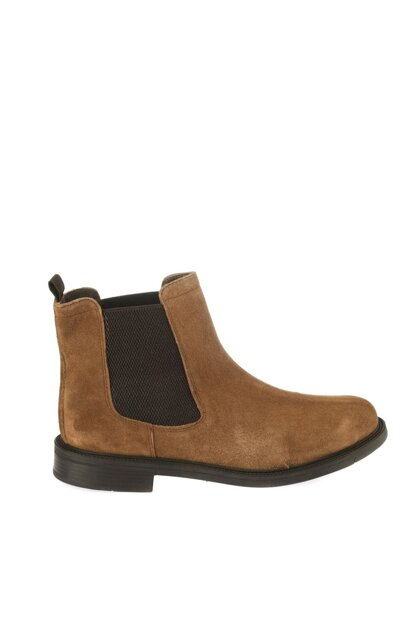 Genuine Leather Tobacco Men Boots 02BOH113810A430