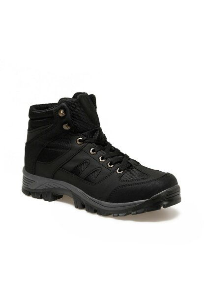 ALESTA HI Black Men Boots