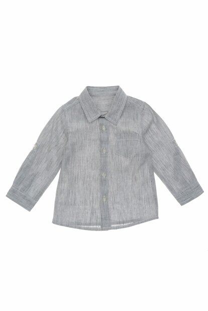 Gray Men's Shirt 19112081100
