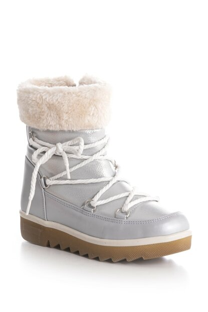Silver Unisex Boots & Bootie 88346-3