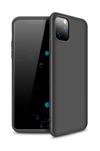 For iPhone 11 Pro Max (6.5 '') Case, Microsonic Double Dip 360 Protective Black CS110-DD-360-IP11-PRO-MAX-SYH