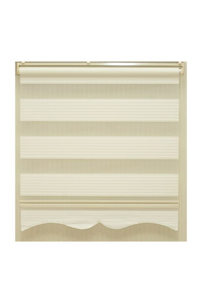 Zebra Roller Blinds Pleat White Color Original Fabric (Skirt Slice Gift) PLISE