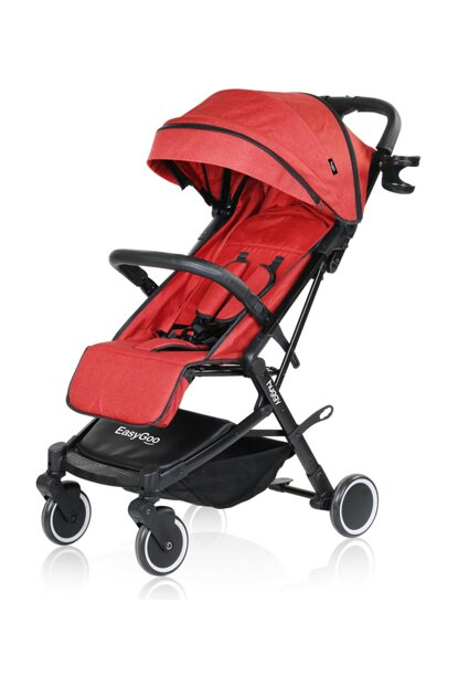 Huggy Easy Go Practical Baby Stroller Red 43239006