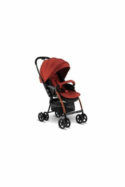BH-3100 Viva Two Way Light Baby Stroller - Pushchair Red 8698906116561