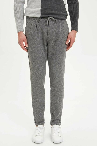 Men's Gray Jogger Trousers M2080AZ.19WN.GR228