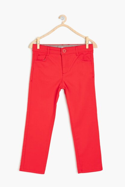 Red Boy Pocket Trousers 9KKB46772TW