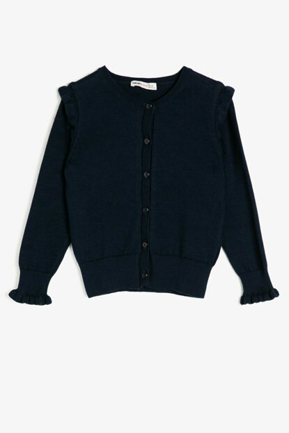 Navy Blue Children Cardigan 0KKG97918OT