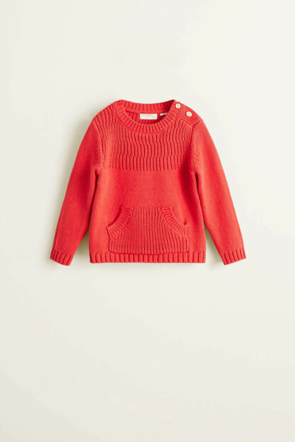 Girls Red Sweater 33063749