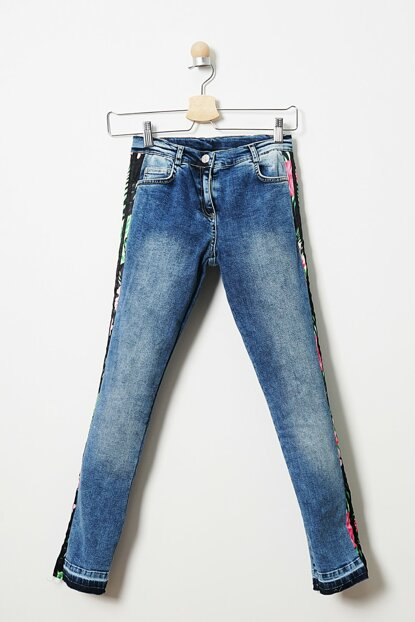 Girls' Denim Trousers 19121000100