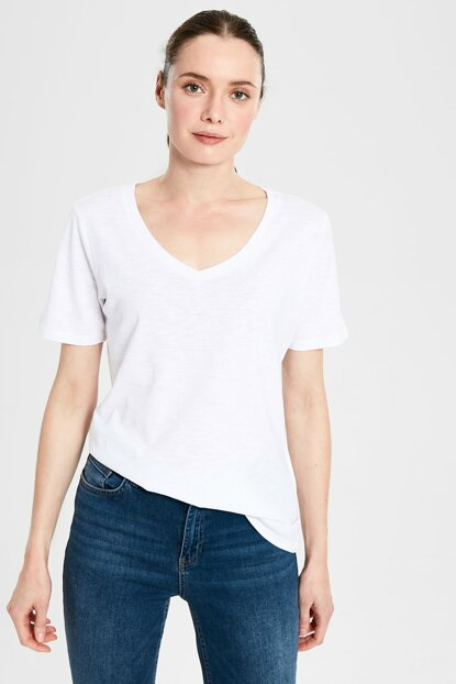 Women's Optical White T-shirt 0S2167Z8