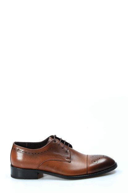 Genuine Leather Taba Men's Classic Shoes 1849908