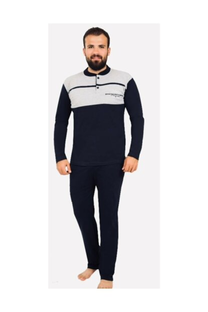 Winter Men's Pajamas Bottom Top Suit Tracksuit PJM123